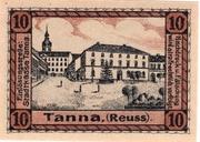 10 Pfennig (Tanna) – revers