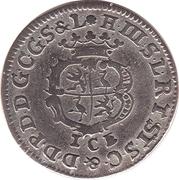 1/24 thaler Heinrich III – avers
