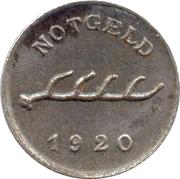 1 pfennig - Reutlingen – revers