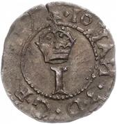 1 schilling Johan III – avers