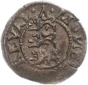 1 schilling Johan III – revers