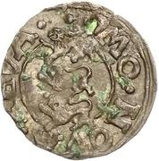 1 schilling Éric XIV (type 2; sans bouclier) – revers