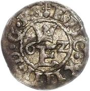 1 schilling Éric XIV (type 1; sans couronne) – avers