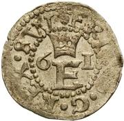 1 schilling Éric XIV (type 1; avec couronne) – avers