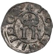1 schilling Johan III (type 1; avec cercle) – avers