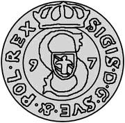 4 pfennig Sigismund – avers