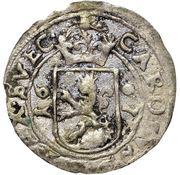 1 rundstück Charles XI (lion face à gauche) – avers