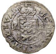 1 rundstück Charles XI (lion face à gauche) – revers