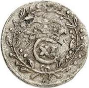 1 rundstück Carl XI – avers