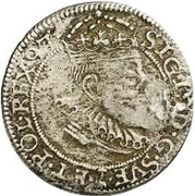 1 öre Sigismund – avers