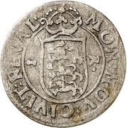 1 rundstück Charles XI (lion face à droite) – revers