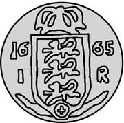 1 rundstück Charles XI – revers