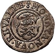 2 schilling Johan III – revers