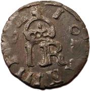 1 schilling Johan III (type 1; sans cercle) – avers