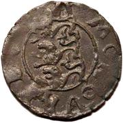 1 schilling Johan III (type 1; sans cercle) – revers