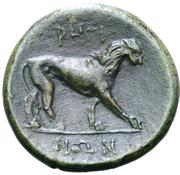 Bronze Æ22 – revers