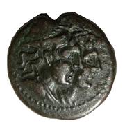 Tetra - PB, Æ 18 (Dioscures) – avers