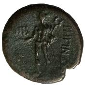 Tetra - PB, Æ 18 (Dioscures) – revers