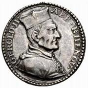 2 Ducat - Gerold II von Zurlauben (Uniface) – avers