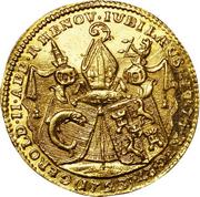 1 Ducat - Gerold II von Zurlauben – avers