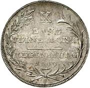 1 Thaler - Karl Theodor von Dalberg (Konventionstaler) – revers