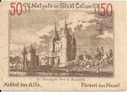 50 Pfennig (Calcar) – revers