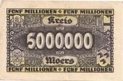 5,000,000 Mark – revers