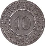 10 pfennig - Bad Neuenahr (Wilhelm Broicher) – avers