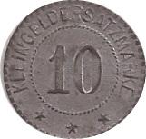 10 pfennig - Bad Neuenahr (Wilhelm Broicher) – revers