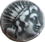 Drachme plinthophore de Rhodes – avers