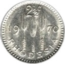 2½ cents – revers