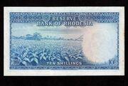 10 Shillings 1964 – revers