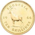 10 shillings - Elizabeth II – revers