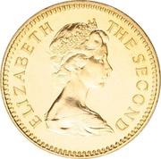5 livres - Elizabeth II – avers