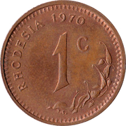 1 cent – revers