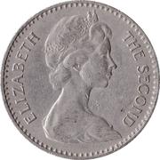 2½ shillings / 25 cents - Elizabeth II -  avers