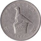 2 shillings / 20 cents - Elizabeth II – revers