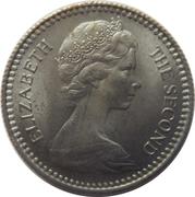 1 shilling / 10 cents - Elizabeth II – avers