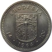 1 shilling / 10 cents - Elizabeth II – revers