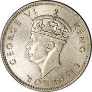 2 shillings - George VI – avers