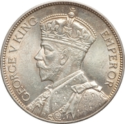 2 shillings - George V – avers