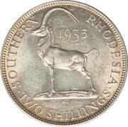 2 shillings - George V – revers