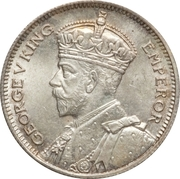 6 pence - George V – avers