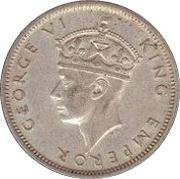 1 shilling - Geoge VI – avers