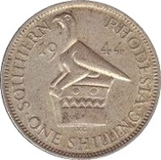 1 shilling - Geoge VI – revers