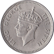 3 pence - George VI – avers