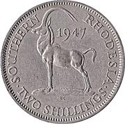 2 shillings - George VI – revers