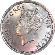 6 pence - George VI – avers