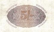 5 Shillings (Large) – revers