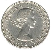1 shilling - Elizabeth II – avers